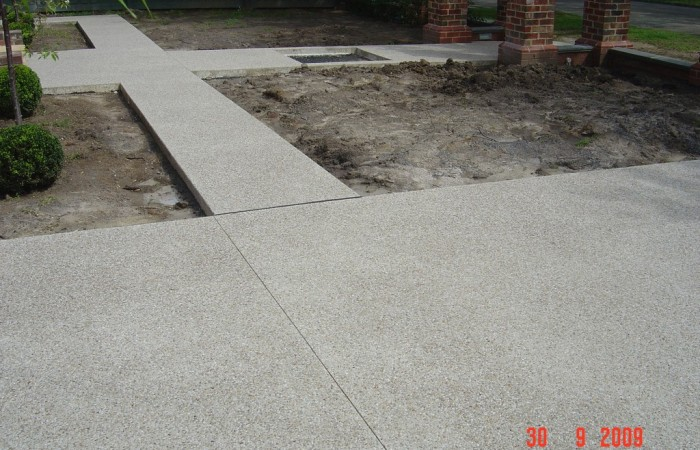 Exposed Aggregate Path