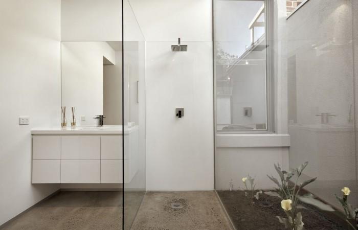 Polished Concrete Bathrooom